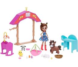 Lalka i akcesoria Mattel Enchantimals Harvest Hills Żłobek na farmie Zestaw