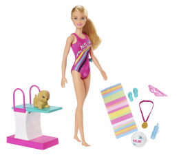 Lalka i akcesoria Barbie Barbie pływaczka Lalka
