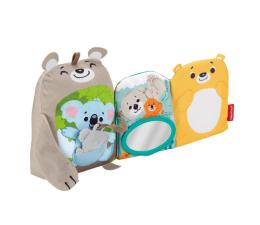 Zabawka dla małych dzieci Fisher-Price Miękkie zwierzątka – Książeczka aktywizująca