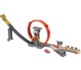 Pojazd / tor i garaż Mattel Disney Cars Superpętla XRS Rocket Racing