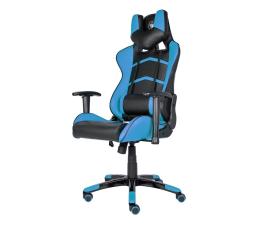 Fotel gamingowy Silver Monkey SMG-400 (Czarno-Niebieski)