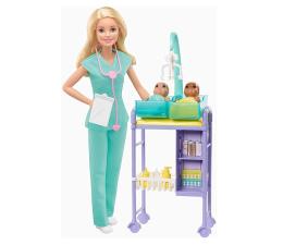 Lalka i akcesoria Barbie Pediatra Zestaw Kariera Lalka blondynka