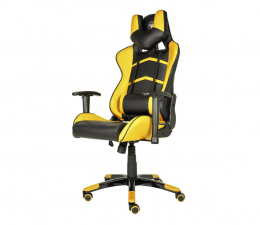 Fotel gamingowy Silver Monkey SMG-400 (Czarno-Żółty)