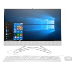 All in One HP 24 AiO J4005/4GB/256/Win10 IPS white