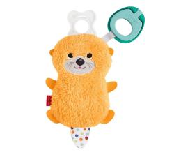 Zabawka dla małych dzieci Fisher-Price Clipimals Schowek i zawieszka do smoczka Wydra