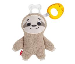 Zabawka dla małych dzieci Fisher-Price Clipimals Schowek i zawieszka do smoczka Leniwiec