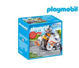 Klocki PLAYMOBIL ® PLAYMOBIL Motocykl ratowniczy ze światłem