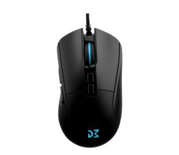 Myszka przewodowa Dream Machines DM4 Evo (16000 dpi, RGB, czarny)