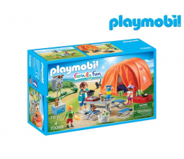 Klocki PLAYMOBIL ® PLAYMOBIL Rodzina na kempingu