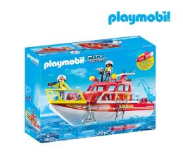 Klocki PLAYMOBIL ® PLAYMOBIL Łódź ratownicza straży pożarnej
