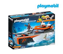 Klocki PLAYMOBIL ® PLAYMOBIL SPY TEAM Łódź Turbo