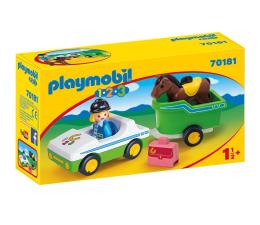 Klocki PLAYMOBIL ® PLAYMOBIL Samochód z przyczepą dla konia