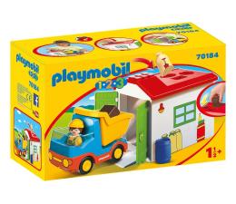 Klocki PLAYMOBIL ® PLAYMOBIL Ciężarówka z garażem z funkcją sortera
