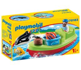 Klocki PLAYMOBIL ® PLAYMOBIL Marynarz z łodzią rybacką