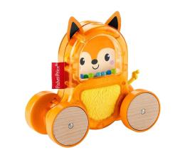 Zabawka dla małych dzieci Fisher-Price Kolorowe Zwierzątka Pojazd Lisek