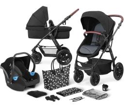 Wózek dziecięcy wielofunkcyjny Kinderkraft 3w1 XMOOV Black