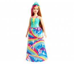 Lalka i akcesoria Barbie Dreamtopia Księżniczka turkusowa tiara