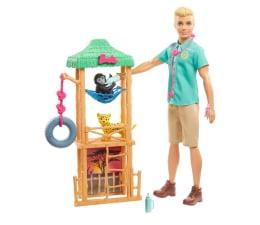 Lalka i akcesoria Barbie Ken Kariera Weterynarz Dzikich Zwierząt