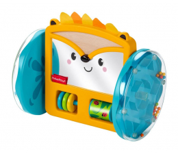 Zabawka dla małych dzieci Fisher-Price Kolorowe zwierzątka Jeż lusterko