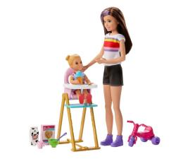 Lalka i akcesoria Barbie Skipper Zestaw Opiekunka Czas karmienia