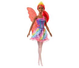 Lalka i akcesoria Barbie Dreamtopia Wróżka różowe włosy