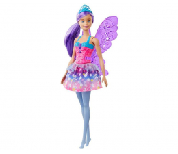 Lalka i akcesoria Barbie Dreamtopia Wróżka fioletowe włosy