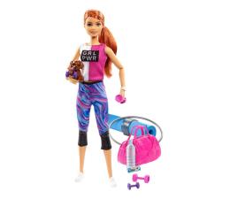 Lalka i akcesoria Barbie Relaks na siłowni Lalka z akcesoriami