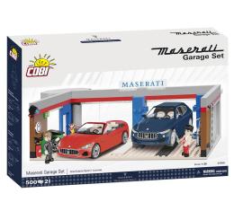 Klocki Cobi Garaż Maserati