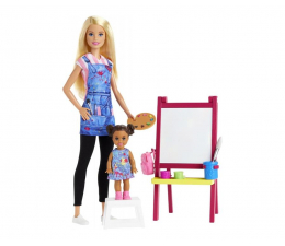 Lalka i akcesoria Barbie Kariera Nauczycielka Plastyki
