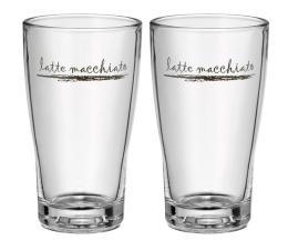 Akcesoria do ekspresów WMF Zestaw 2 szklanek do latte macchiato Barista