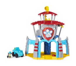 Pojazd / tor i garaż Spin Master Psi Patrol Dino Baza z windą Figurka Rex i pojazd