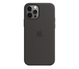 Etui / obudowa na smartfona Apple Silikonowe etui iPhone 12 12Pro czarne