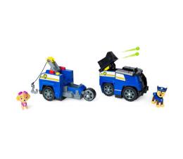 Pojazd / tor i garaż Spin Master Psi Patrol Transformujący Pojazd 2w1 z wyrzutnią+figurka
