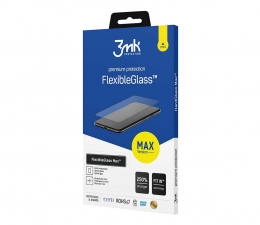 Folia / szkło na smartfon 3mk Szkło Flexible Glass Max do iPhone 12 Mini
