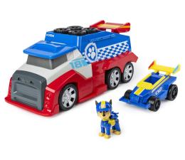 Pojazd / tor i garaż Spin Master Psi Patrol Pit Stop Rozkładana ciężarówka+auto+figurka Chase