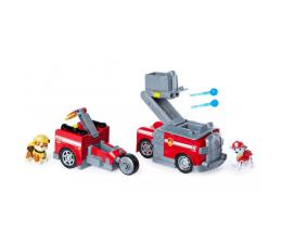 Pojazd / tor i garaż Spin Master Psi Patrol - Transformujący Pojazd 2w1 z wyrzutnią + figurka