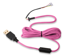 Kabel do myszki Glorious PC Gaming Race Ascended Cable V2 - Majin Pink