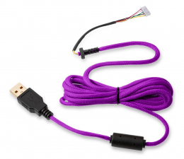 Kabel do myszki Glorious PC Gaming Race Ascended Cable V2 - Purple Reign