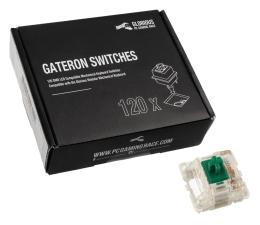Przełączniki do klawiatury Glorious PC Gaming Race Gateron Green Switches (120 szt.)