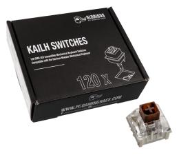 Przełączniki do klawiatury Glorious PC Gaming Race Kailh Box Brown Switches (120 szt.)