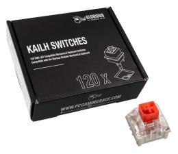 Przełączniki do klawiatury Glorious PC Gaming Race Kailh Box Red Switches (120 szt.)