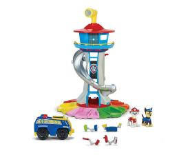 Pojazd / tor i garaż Spin Master Psi Patrol duża baza ze zjeżdżalnią