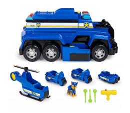 Pojazd / tor i garaż Spin Master Psi Patrol Mega Radiowóz policyjny 5w1 z pojazdami i figurką