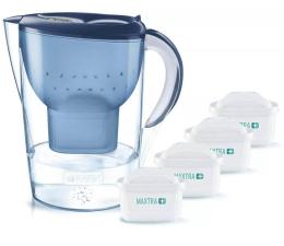 Filtracja wody Brita Marella XL niebieska + 4 wkłady Pure Peformance