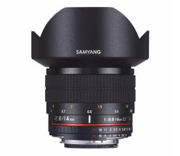 Obiektywy stałoogniskowy Samyang 14mm F2,8 ED AS IF UMC Sony E