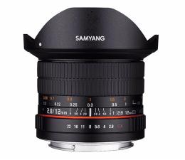 Obiektywy stałoogniskowy Samyang 12mm F2.8 ED AS NCS Fish-Eye Sony E