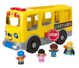 Figurka Fisher-Price Little People Wielki autobus Małego Odkrywcy