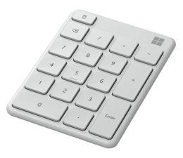 Klawiatura bezprzewodowa Microsoft Number Pad Glacier