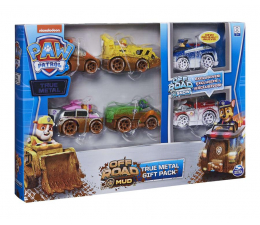 Pojazd / tor i garaż Spin Master Psi Patrol Wielopak pojazdów