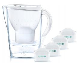 Filtracja wody Brita Marella XL biała + 4 wkłady Pure Peformance